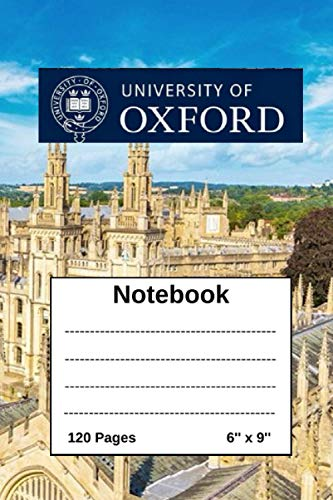 University Of Oxford: University Of Oxford Notebook - diary - journal - 120 pages Oxford University picture lecture notebook - composition book / ... sheets with Monthly To-Do list page - logo.
