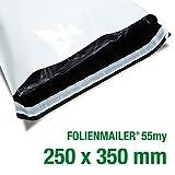 100 Folienmailer® Versandbeutel C4: Plastik Versandtaschen 250x350mm