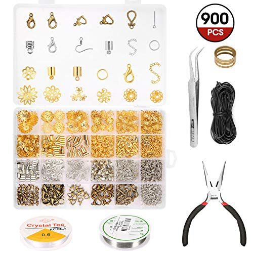 ARTISTORE Kit de Fabricación de Joyas Kit de Accesorios de Joyería Joyería...