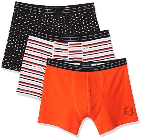 Scotch & Soda heren boxershorts Boxer shorts with logo prints