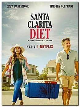 Santa Clarita Diet Tv Series Poster  13 x 19 inch / 33 x 48 cm  unframed Display Ready Photo Print