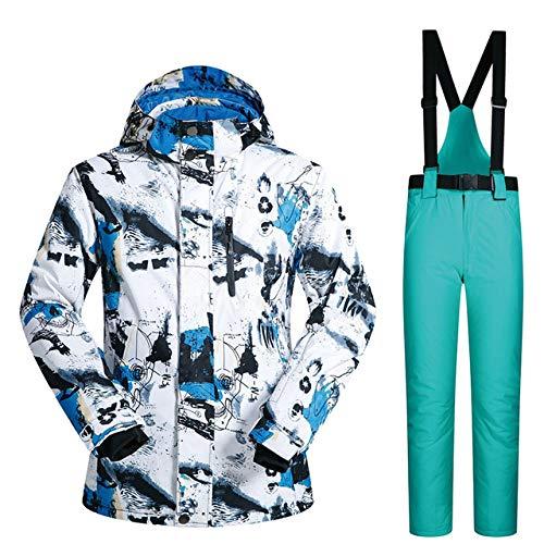 ZYJANO ski pak Ski pak Mannen Winter Nieuwe Outdoor Winddichte Waterdichte Thermische Sneeuw Jas En Broek Kleding Skiën En Snowboarden Suits Merken