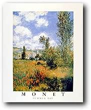 Wall Decor Claude Monet ILE Saint Martin, Vetheuil Impressionist Art Print Poster (16x20)