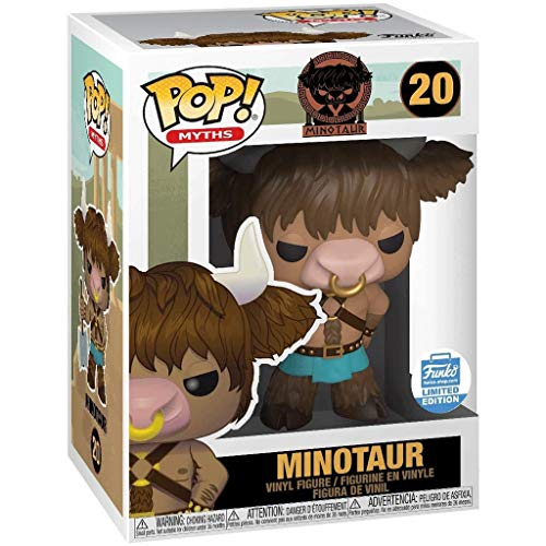 Gogowin Pop Myths : Minotaur Figure 3.75inch Vinyl Gift for Myths Fans Chibi Figure