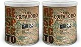 CAFFE' COSTADORO Respecto Arabica Espresso Café 2 Latas 500 g