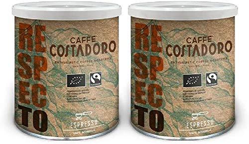 CAFFE' COSTADORO Respecto Arabica Espresso Kaffee 2 Dosen, 500 g