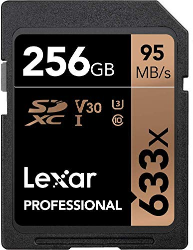 Lexar Professional 633x 256GB SDXC...
