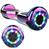 GeekMe Hoverboards 6.5 '' Self Balance Scooter Las Ruedas LED Luces, Scooter eléctrico con Bluetooth - Patinete Eléctrico 2 * 350W