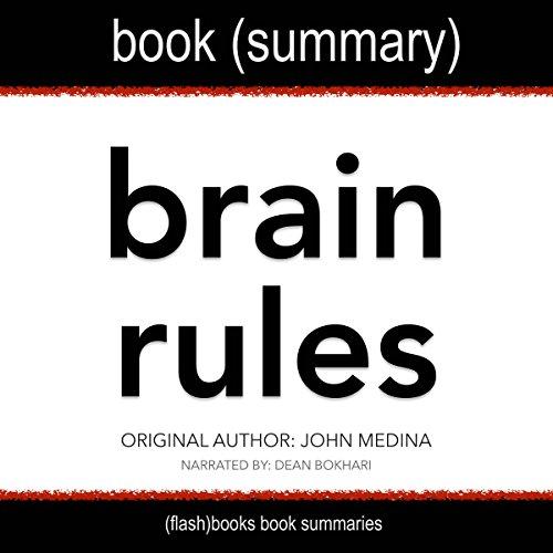 Summary of Brain Rules by John Medina audiobook cover art