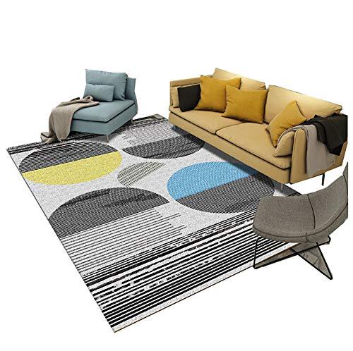 Zacht pluizend tapijt anti-slip absorberende milieubescherming pads moderne woonkamer salontafel boek kamer mat huis deken
