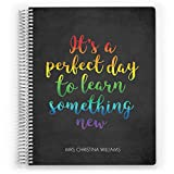 Customized 2020 Teacher Planner, Class Organizer, Learn Something New (6'x8') by PurpleTrail