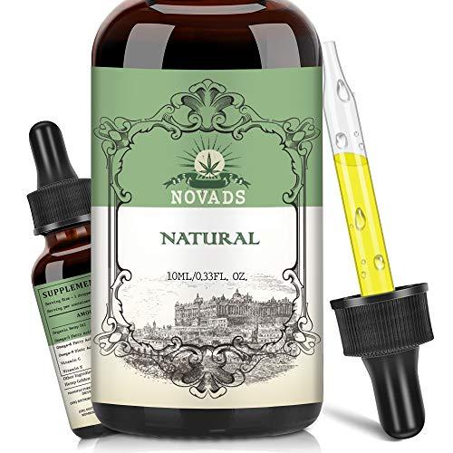 Premium Hemp Pure Oil, Vegan Friendly, New Formula Omega 3-6-9 | Vitamins | Essential Fatty Acids (10ml 10000mg 2pack)