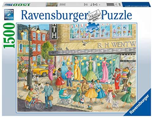Ravensburger- Sidewalk Fashion - Puzzle de 1500 Piezas para Adultos y niños a Partir de 12 años (16459)