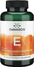 Swanson Vitamin E 1000 Iu 1000 Iu (450 Milligrams) 60 Sgels