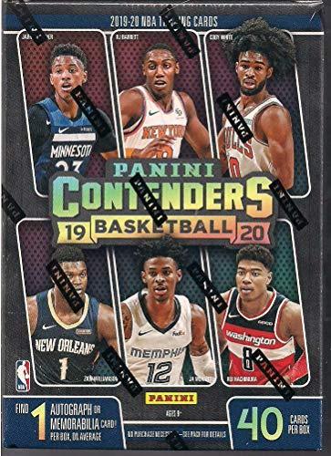 2019/20 Panini Contenders NBA Basketball BLASTER box (40 cards incl. ONE Memorabilia or Autograph card)