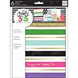 me & my BIG ideas Pocket Folders - The Happy Planner Scrapbooking Supplies - Multi-Color - 6 Pre-Punched -...