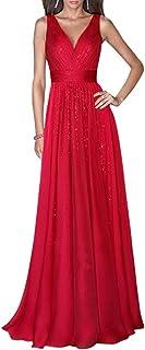 Amazon.es: Vestidos De Invitada Boda Rojo