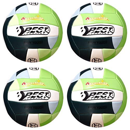 Best Sporting Beach-Volleyball California Soft Touch, blau oder grün (Grün, 1 Stück)