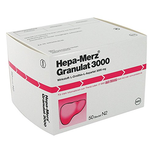 HEPA MERZ Granulat 3.000 Btl. 50 St