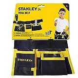 Stanley Jr.-Cinturón de Herramientas para niños Color Negro Amarillo. (T010M-SY)