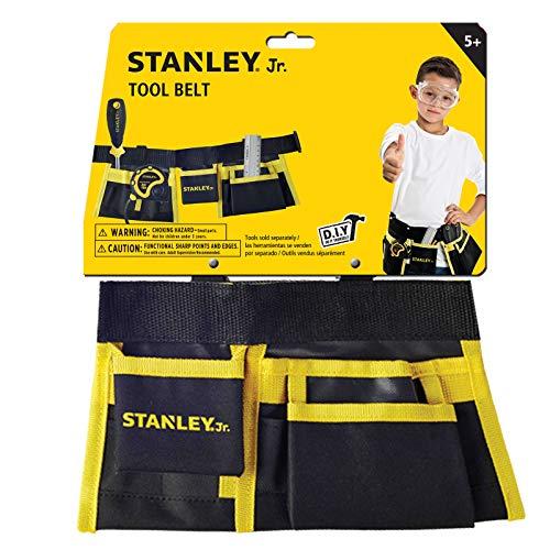 Stanley Jr. T010M-SY Werkzeuggürtel für Kinder, gelbschwarz