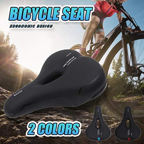 Dasongff Fahrradsitz Bequemer MTB Sattel Radfahren Sitzkissen Offroad Bike Seat Mountain Bike Sattel Komfort rutschfest