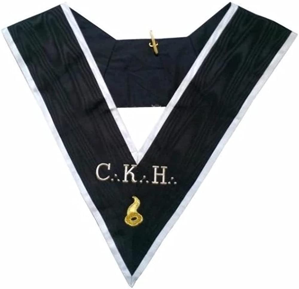Masonic Officer's collar - ASSR - 30th degree - CKH - Grand Maître des Banquets