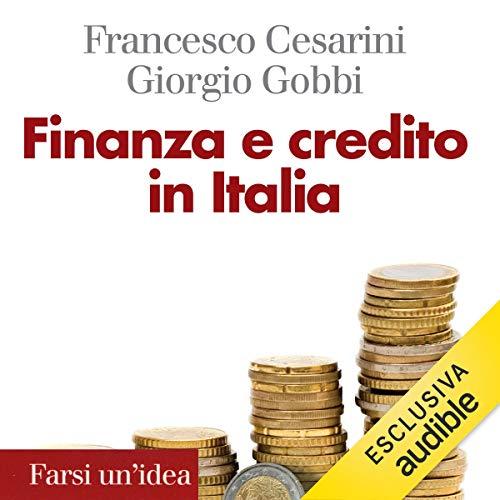 Finanza e credito in Italia copertina