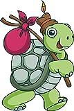 Aufkleber Schildkröte 10 x 15 cm thumbnail