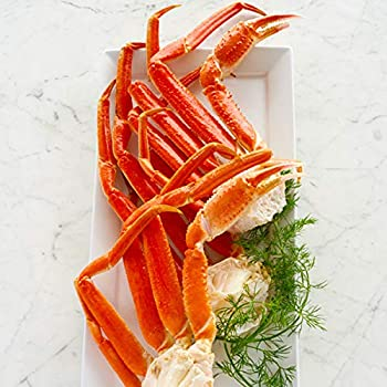 Lobster Gram - 2 Pounds Alaskan Snow Crab Legs – Fresh and Fast Delivery – From the No 1 Seafood Delivery Company – Sourced from the Bering Sea - Perfect for crab lovers appetizers a crab feast