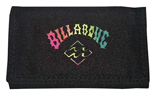 Billabong Atom Wallet One Size Black Neon
