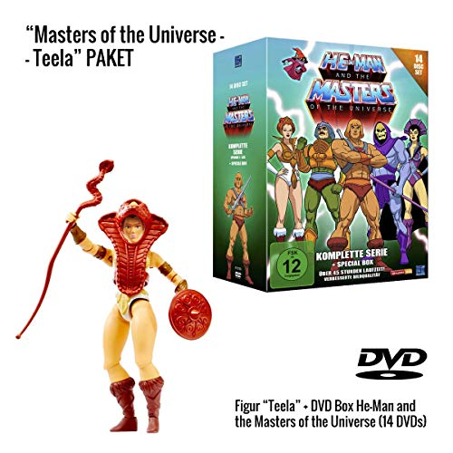 He-Man and the Masters of the Universe (Komplette Serie auf 14 DVDs) + Teela Actionfigur (14 cm)