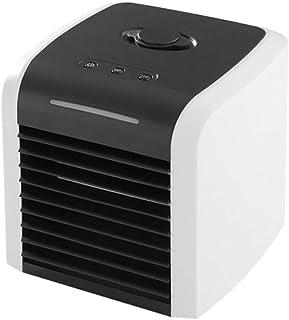 Enfriador De Aire Personal Mini Ventilador De Aire Acondicionado Portátil Enfriador De Espacio De Escritorio Ventilador De Mesa USB Personal Enfriador Evaporativo Pequeño Humidificador De Aire