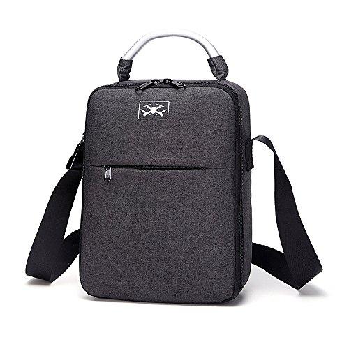 HSKB Drohne Handtasche, Tragetasche Für DJI Tello Drohne Rucksack, wasserdichte Tasche Portable Handtasche Tragekoffer (Schwarz)
