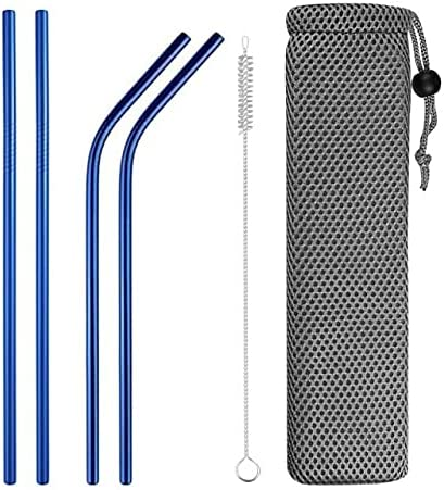 TRANGTRANG Metal straws Max 72% OFF Translated stainless steel straw reusable black str