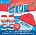 MasterPieces Accessories - Jigsaw Puzzle Glue Bottle & Wide Plastic Spreader, 5 Ounces Each, 2 Pack from Masterpieces Puzzle Company