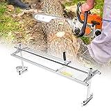 Segheria a Catena Portatile Motoseghe Planking Fresatura Segheria Portatile per Motosega Tavolame Lame, Adatto motosega con lunghezza della barra da 14-48 pollici