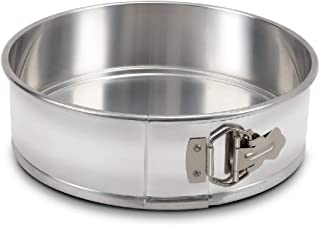 KITCHEN VENDOR Aluminum Spring Form Round Cake Pans, Removable Bottom Cake Pan, 10 x 3 Inch