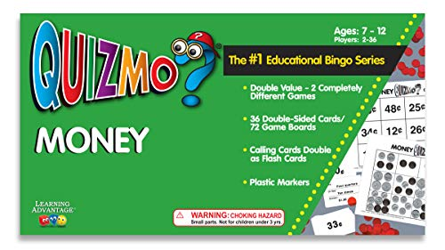 Learning Advantage 8236 QUIZMO Money Card