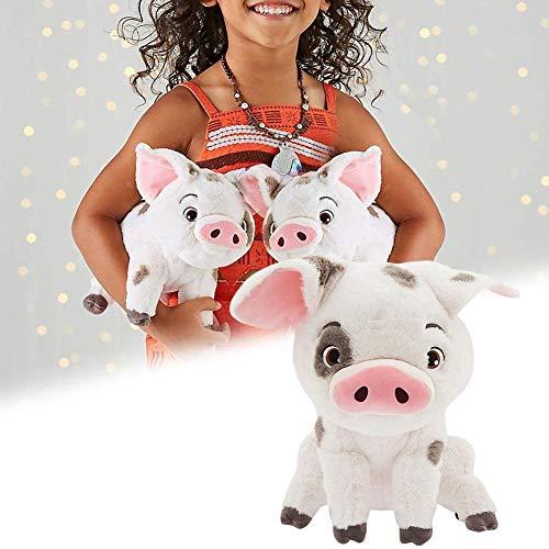 gaeruite 22 cm Moana Pua Stofftier,pua Kuscheltier,niedlichen Cartoon Pua Plüschtier Puppe Haustier Schwein Pua Kuscheltiere Plüschtier Puppe für Kinder Geschenke