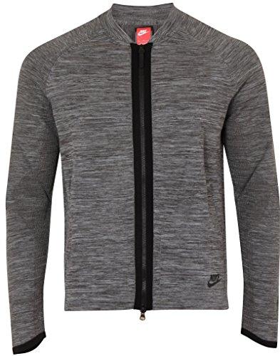 NIKE M NSW TCH KNT BMBR Chaqueta, Hombre, Gris (Dk Grey Heather/Wolf Grey/Black), XL