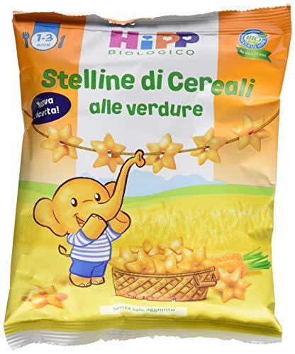 Hipp Stelline di Cereali Alle Verdure - Confezione da 7 x 30 g