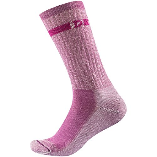Devold Outdoor Medium Woman Sock pink Melange EU 35-37