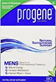 Progene 90ct Testosterone Supplement - Doctor Recommended with Clinically Proven Testosterone Precursors - Increase Levels for More Energy and Lean Muscle- Tribulus, Tongkat Ali, L-Arginine