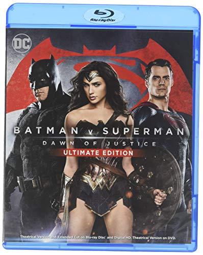 Batman v Superman: Dawn of Justice (Wal-Mart- VUDU +Ultimate Edition Blu-ray + Theatrical Blu-ray)