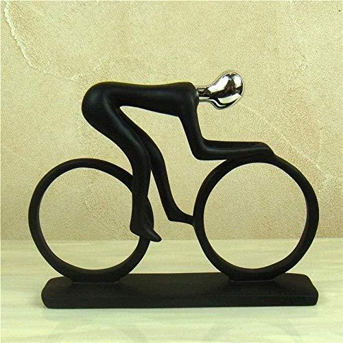 Objets de décoration Résumé Athlète Résine Athlète Figure (Cycliste) Miniature Sports Salon Oeuvre Décoration