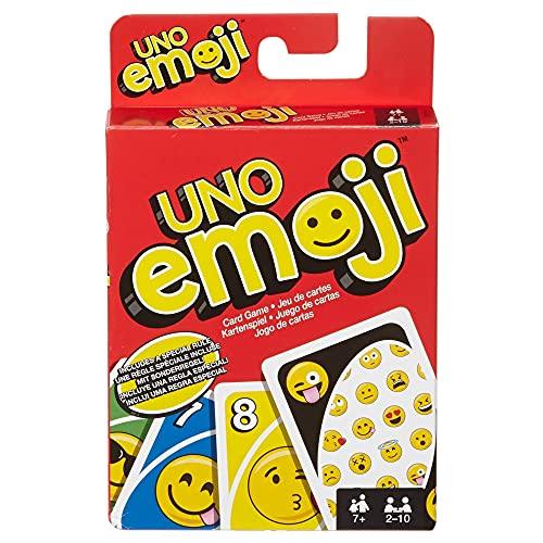 Mattel Games UNO Emojis Multicolor Basic...