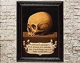 Memento Mori, Vanitas, Macabre, Skull, Dead, Skull Decor,