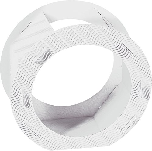 HEYDA 204876200 Laternen-Zuschnitt, rund, groá, weiá