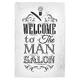 artboxONE Poster 30x20 cm Typografie Barber Shop I